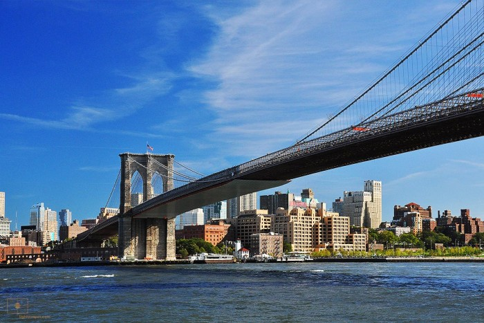 Brooklyn Bridge, East River, New York City