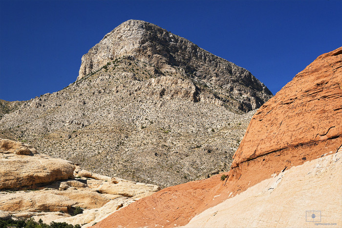 Sandstone Quarry and Turtlehead Peak, Red Rocks Canyon, Nevada
