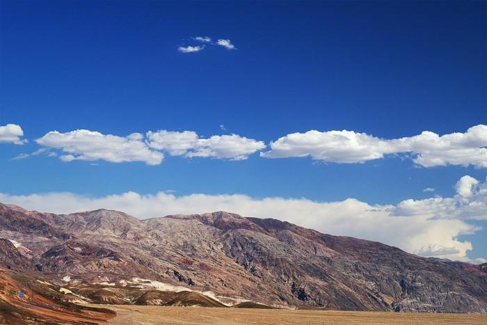 Black Mountain Range, Death Valley, California