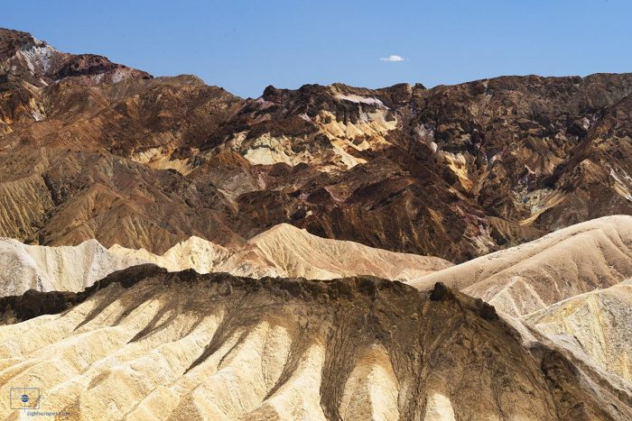 Earth Dreams, Landscape, California, Death Valley, Amargosa Range, Zabriskie Point, Desiccation, Dry, Geology, Graben, Desert, Range, Mountains, Big Sky, Blue Sky, Sunlight